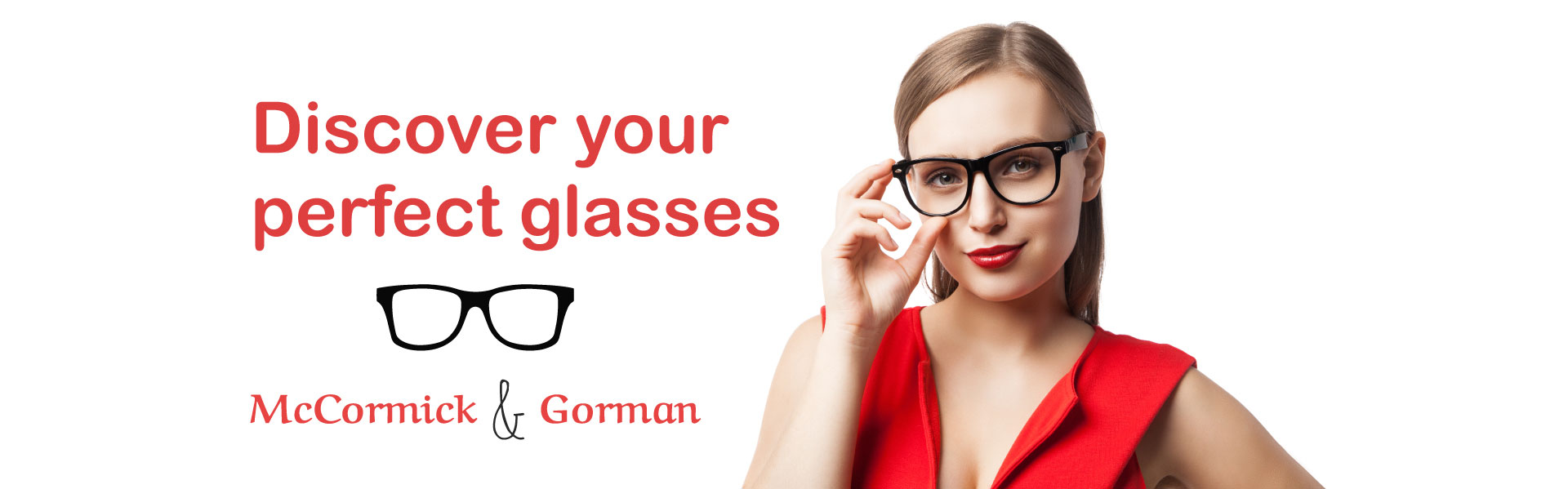 discvover your perfect glasses banner