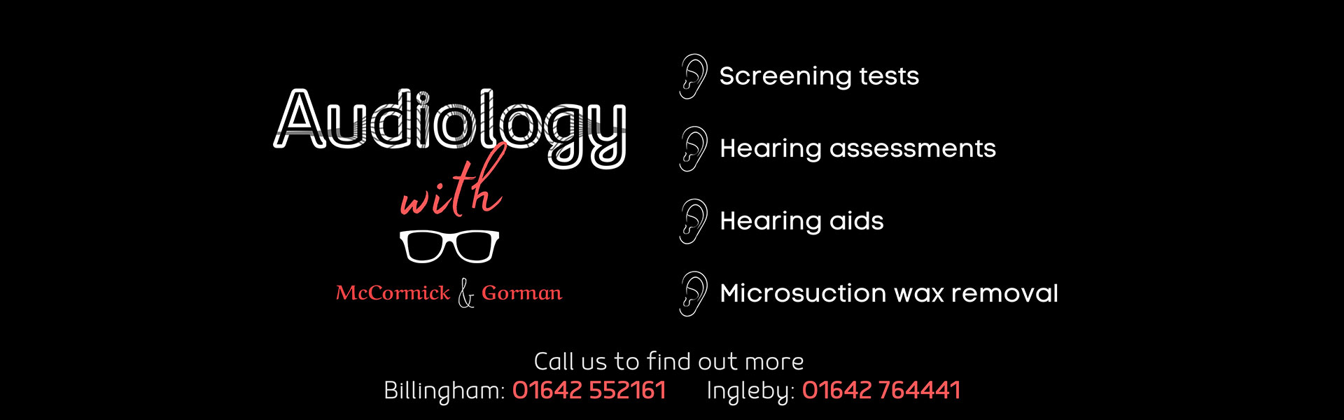 audiology banner explained